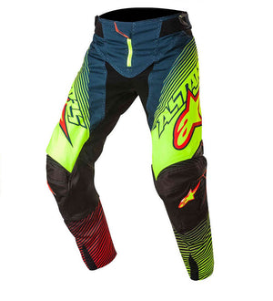 ALPINESTARS 2017 TECHSTAR FACTORY PANT PETROL LIME (SIZE: 30)