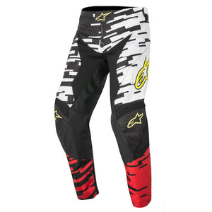 ALPINESTARS 2016 RACER BRAAP PANTS WHITE/RED/BLACK (SIZE: 30)