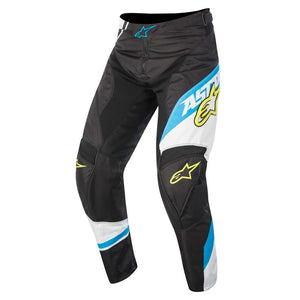 ALPINESTARS 2016 RACER SUPERMATIC PANTS BLACK/CYAN/WHITE