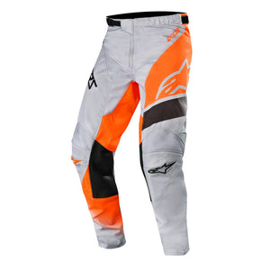 ALPINESTARS 2019 RACER SUPERMATIC PANTS LIGHT GREY/FLURO ORANGE/BLACK