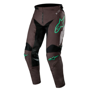 ALPINESTARS 2019 RACER TECH COMPASS PANTS BLACK/MID GREY/TEAL