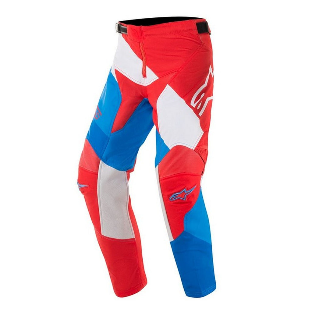 ALPINESTARS 2019 YOUTH RACER VENOM PANTS RED/WHITE/BLUE