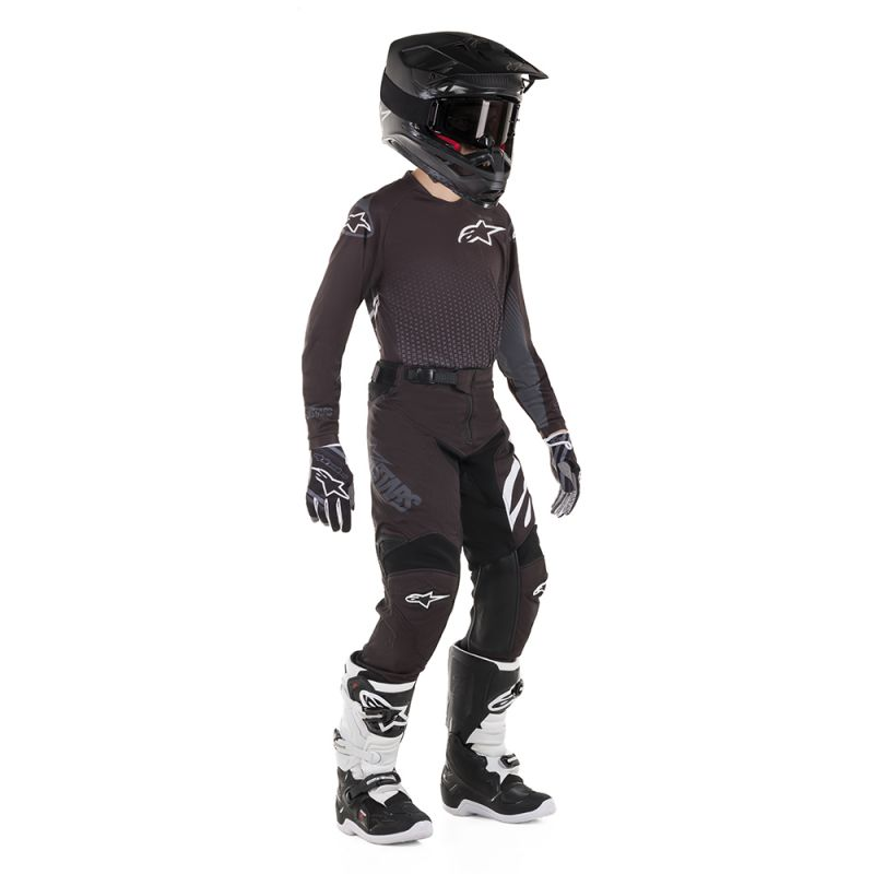 ALPINESTARS 2019 YOUTH RACER GRAPHITE PANT BLACK/ANTHRACITE