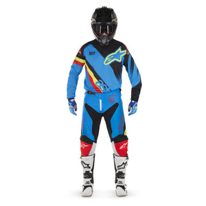 ALPINESTARS 2018 YOUTH RACER SUPERMATIC PANT AQUA/BLACK/RED
