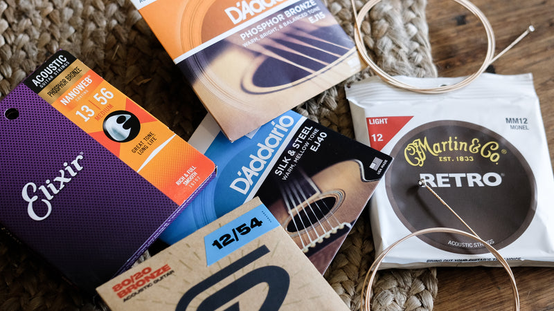 Buyer's Guide: Acoustic Guitar Strings