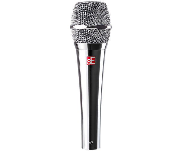 sE V7 Supercardioid Dynamic Vocal Microphone (Chrome Plated)