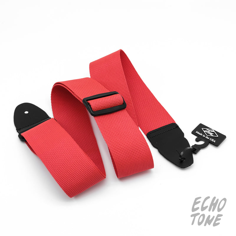 "LM 2"" Poly Guitar Strap (Various Colours)"