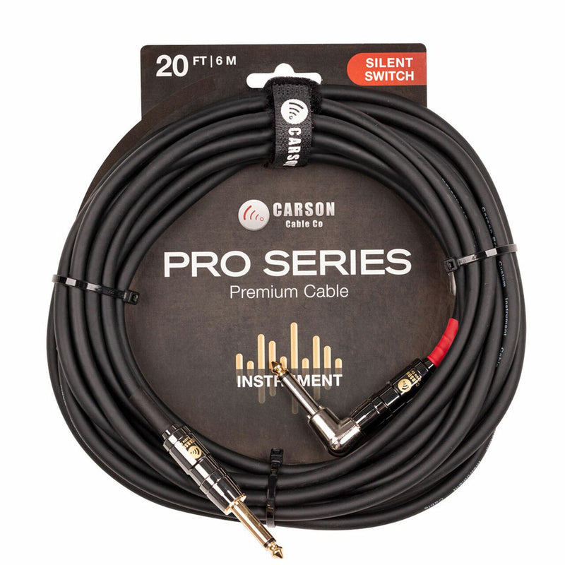 Carson Pro 20' Silent Switch Cable