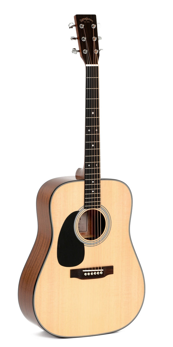 Sigma DM-1STL+  Left Handed Dreadnought Acoustic (Pickup)