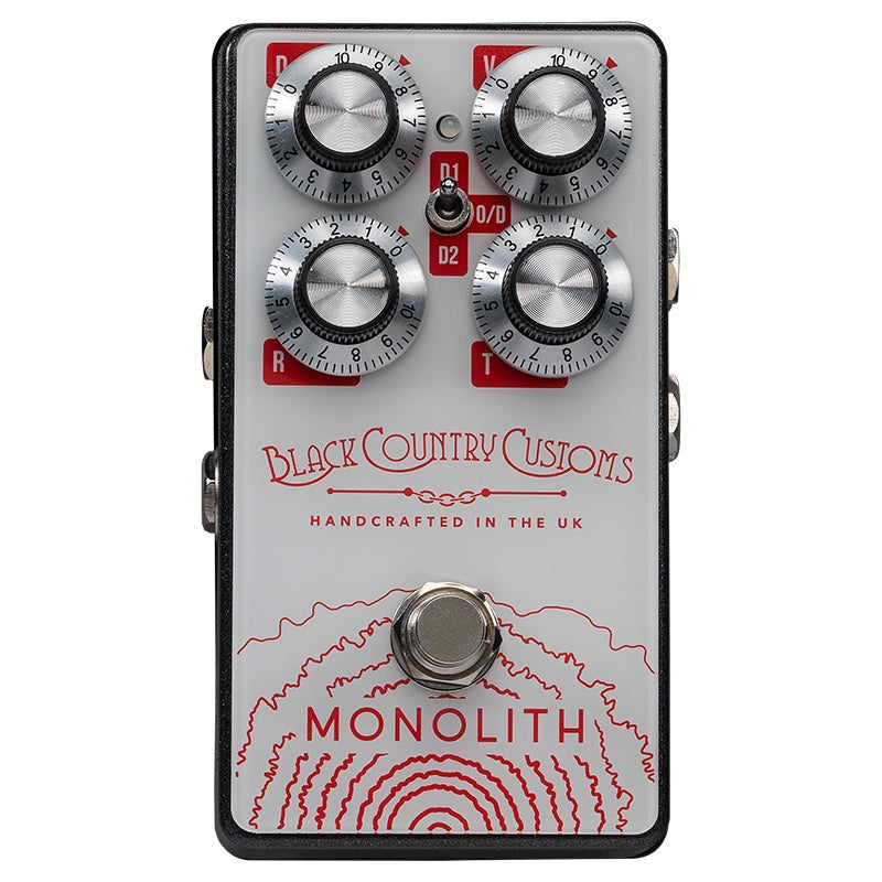 Black Country Customs 'Monolith' Distortion Pedal (Made in UK)