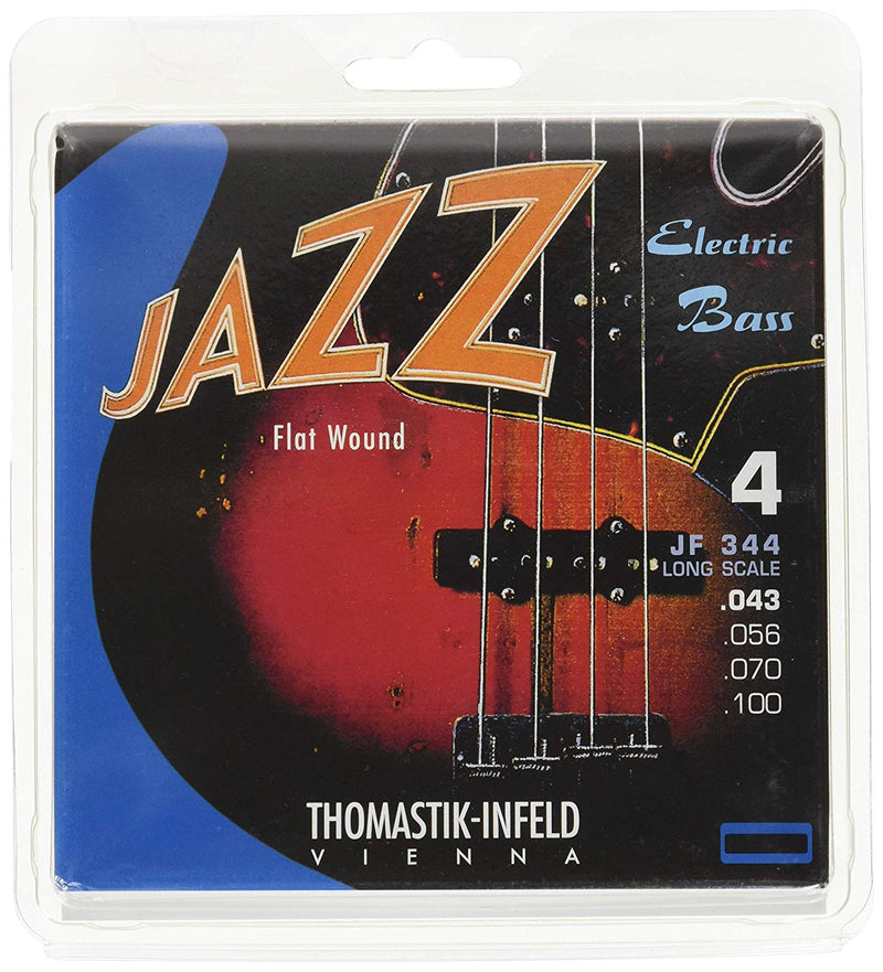 Thomastik-Infeld Jazz Flat Wound Bass Strings