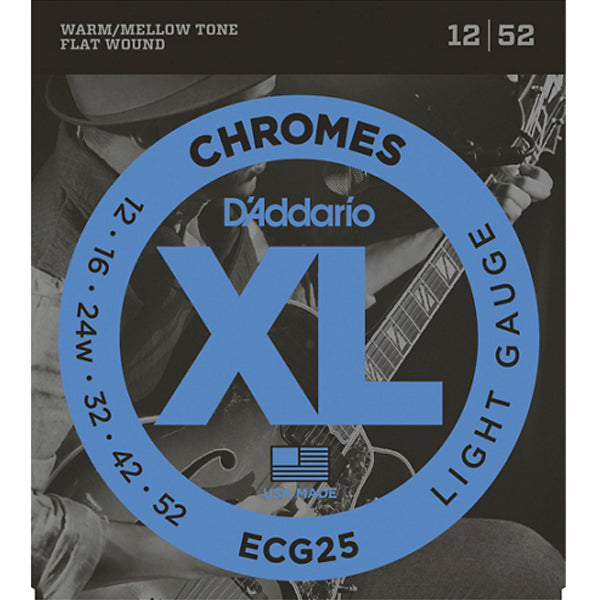 D'Addario Chrome Jazz Flat Wound