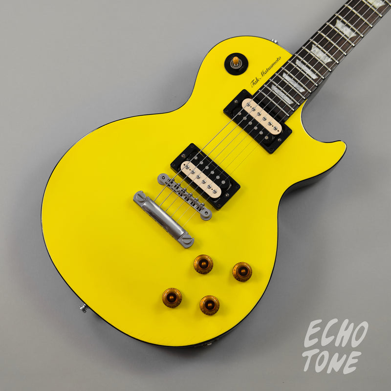 1999 Gibson Les Paul Tak Matsumoto Signature (Canary Yellow, OHSC)