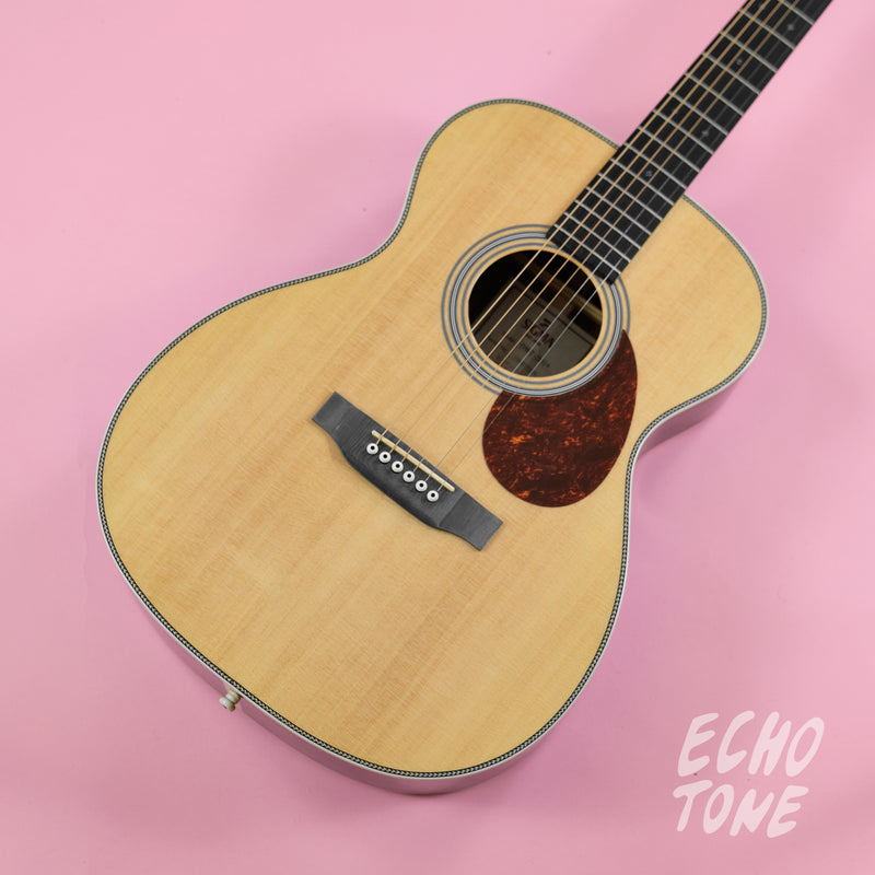 Sigma OMT-28H 'Herringbone OM' Acoustic Guitar (Spruce Top, Tilia Back and Sides)