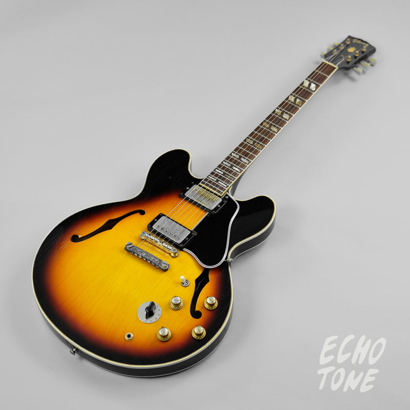 1966 Gibson ES-345 (Mickey Mouse Ears, Mono Conversion, OHSC)