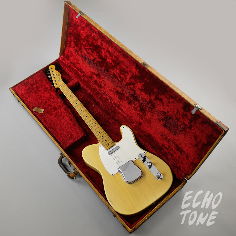 1955 Fender Telecaster (White-guard, Flat-pole Pickup, OHSC)