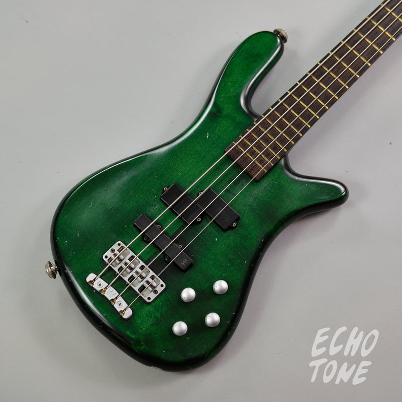 1997 Warwick Streamer LX (Made in Germany, Transparent Green)