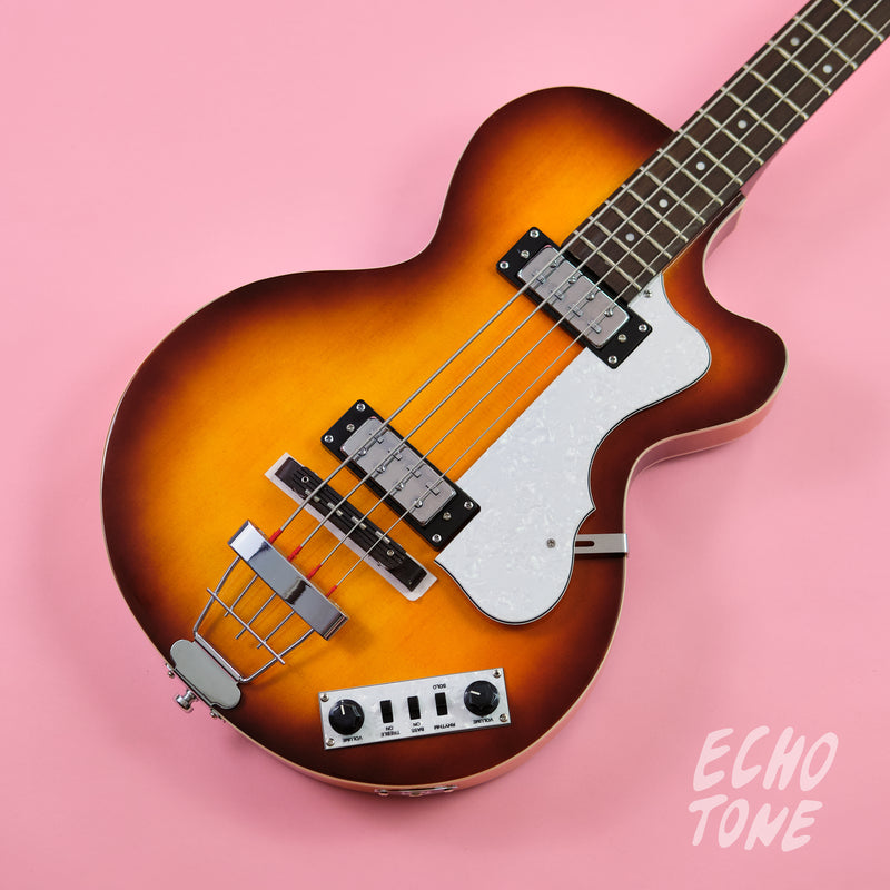 Hofner Ignition Series Club Bass (Sunburst, OSHC)