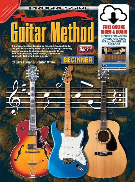 Progressive Guitar Method 1 Book/Online Video & Audio