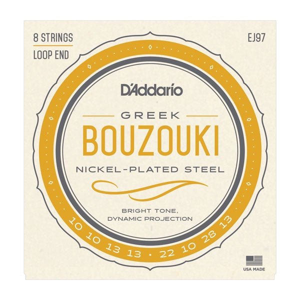 EJ97 D'Addario Bouzouki Strings - Nickel