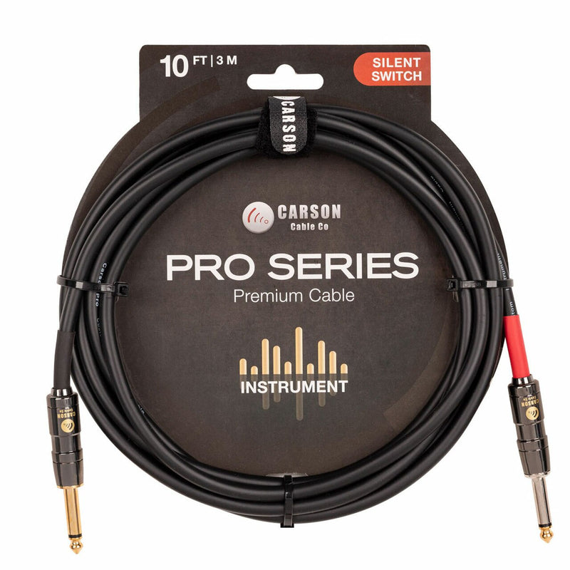 Carson Pro 10' Silent Switch Cable