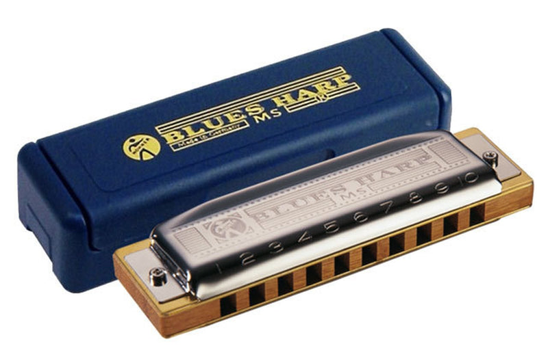 Hohner Blues Harp (Diatonic Harmonica, Various Keys)