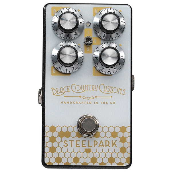 Black Country Customs 'Steel Park' Boost Pedal (Made in UK)