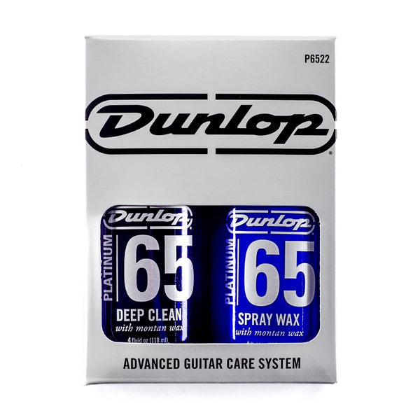 Dunlop Platinum 65 Deep Clean and Spray Wax Twin Pack