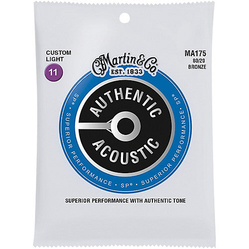 Martin Authentic SP 80/20 Acoustic Strings