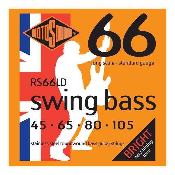 Rotosound 'Swing Bass 66' Stainless Steel Bass Strings