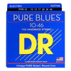 DR Pure Blues Electric Guitar Strings (Pure Nickel)