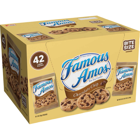 Biscuits Famous Amos - Chronomarketguinee