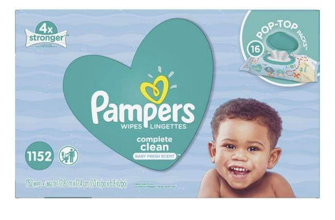 Lingette pampers - Chronomarketguinee