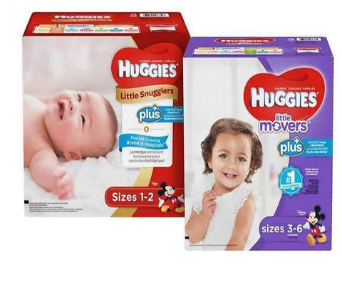 couches Huggies plus tailles 1 a 6 - Chronomarketguinee