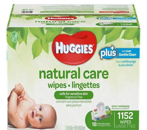 lingette bébé Huggies ultra douce - Chronomarketguinee