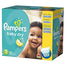 PAMPERS COUCHES BÉBÉ - Chronomarketguinee