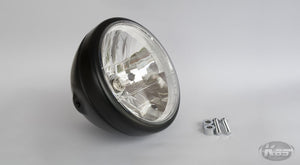 Daytona Neo Vintage Headlight - Matte Black