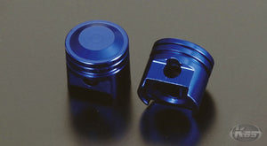 Posh Air Valve Caps - Piston Style