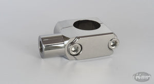 Posh Handlebar Mounted Mirror Adaptor - Chrome
