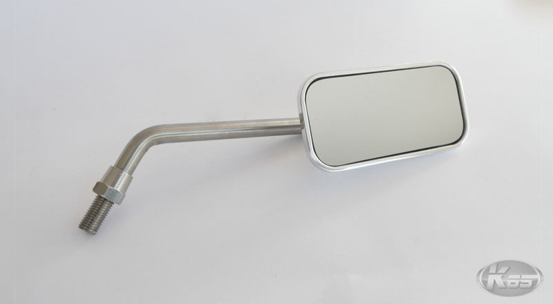 Posh Rectangular Cast Mirror