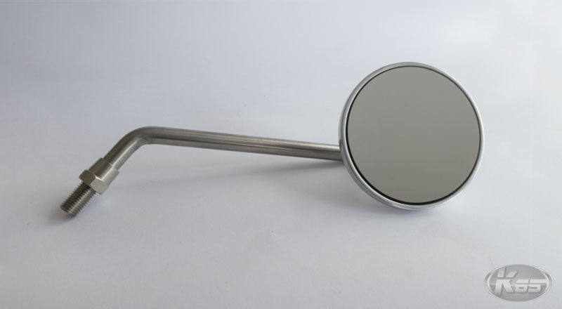 Posh Round Cast Mirror