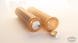 Posh Waffle Style Grips - Light Brown / Candy