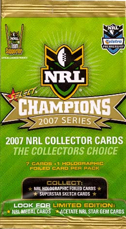 NRL 2007 Champions Single Cards