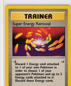 Super Energy Removal 79/102 Base Set Unlimited Rare
