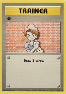 Bill 91/102 Base Set Unlimited Common