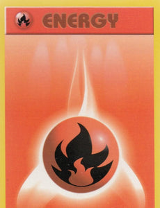 Fire Energy 98/102 Base Set Unlimited Common