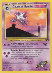 Sabrina's Haunter 55/132 Gym Challenge Set Uncommon