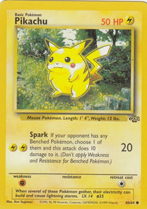 Pikachu 60/64 Jungle Set Unlimited Common