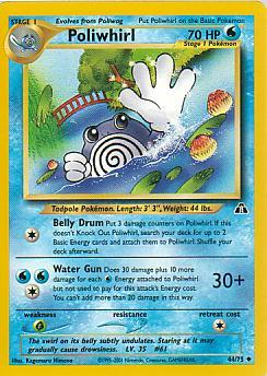 Poliwhirl 44/75 Neo Discovery Uncommon