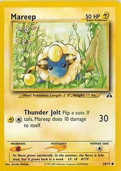 Mareep 58/75 Neo Discovery Common
